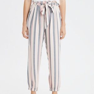 NWT American eagle striped pants